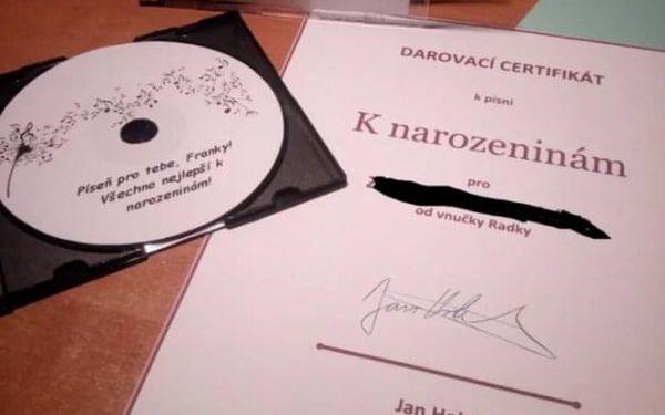 Originální skladba od profesionálního skladatele Jana Holka2