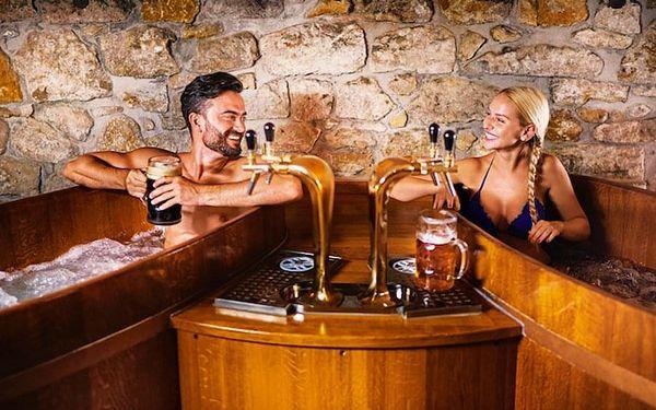 Pivní lázně pro dva s cedrovou saunou | Praha | Celoročně. | 1 hodina.4