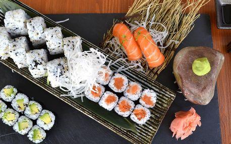 Sushi Duha: sety 24–44 ks i s předkrmem