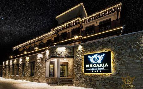 Lyžování v Bulharsku: Wellness Hotel Bulgaria