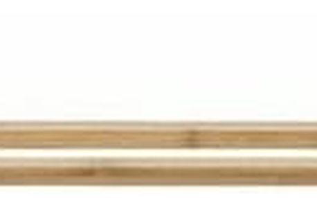 Držák na ručníky Compactor Bestlock SPA Bamboo RAN5805 na zeď, bez vrtání, bambusový