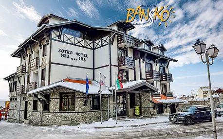 5–8denní Bansko ski | Hotel Ida*** | Snídaně | Sauna, Bazén v ceně | Vlastní doprava