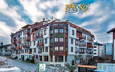 5–8denní Bansko ski | Hotel Evergreen*** | Polopenze | Wellness, Bazén v ceně | Vlastní doprava
