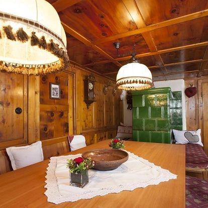 Rakouské Alpy: Pension der Steinbock - das Bauernhaus