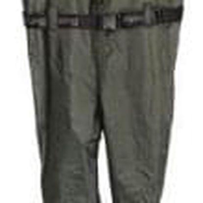 Brodící kalhoty prsačky zelené vel.43