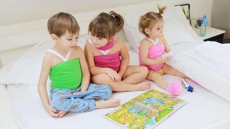 Priessnitzův zábal pro děti na různé části těla