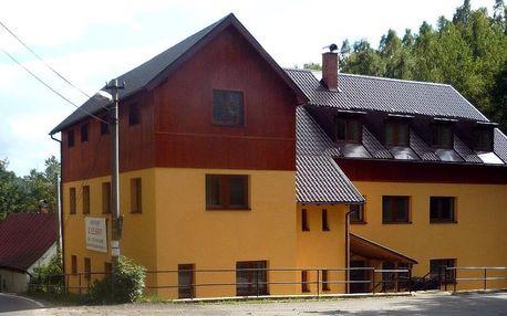 Rodinný penzion v Jizerských horách s polopenzí