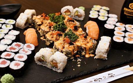 Sushi sety na mnoho způsobů: 24–58 ks