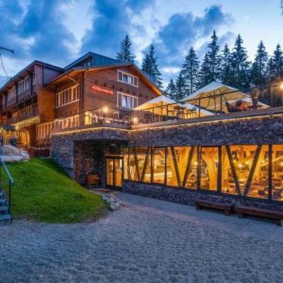 Nízké Tatry: Eko-Šport Hotel Björnson *** se stylovým wellness, slevami do aquaparků a polopenzí + dítě zdarma