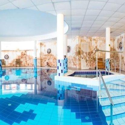 Zalakaros: Hotel Venus ***superior s neomezeným vstupem do Římských lázní a polopenzí + děti do 12 let zdarma