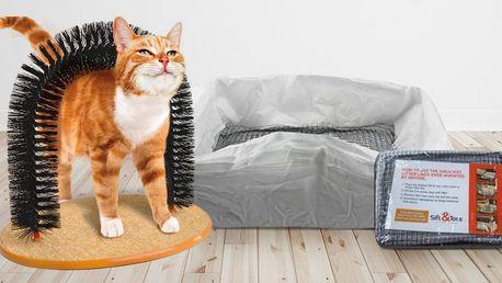 Znovupoužitelný záchod či škrabadlo pro kočky