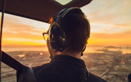 Let vrtulníkem: na výběr 323 měst či romantický let