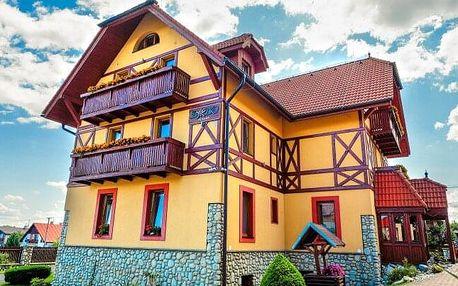 Vysoké Tatry atrakcí v Penzionu Baďo se saunou, fitness, slevami do wellness i aquaparků + polopenze