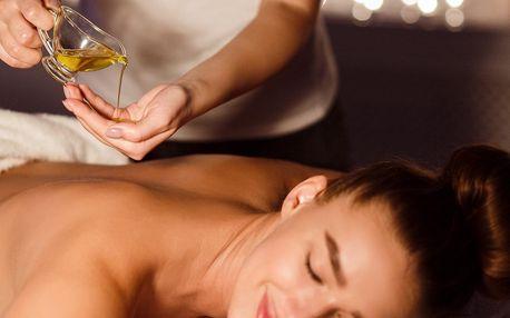 60minutová masáž dle výběru ze 7 druhů