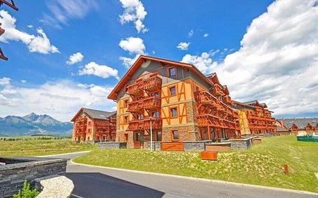 Vysoké Tatry: Tatragolf Mountain Resort **** se snídaněmi, slevou do AquaCity Poprad a vyžitím + dítě zdarma