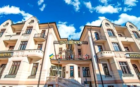 Trenčianske Teplice: Hotel Most Slávy *** s neomezeným wellness, lázeňským bazénem Grand a polopenzí