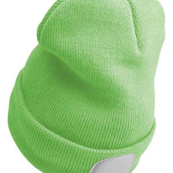 Sixtol Čepice s čelovkou 45 lm, USB, uni, zelená4