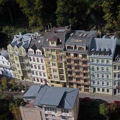 Karlovy Vary na 7 dnů, polopenze