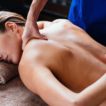Thajská aroma nebo Royal masáž v délce 60 minut