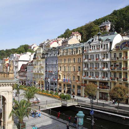 Karlovy Vary na 6 dnů, polopenze