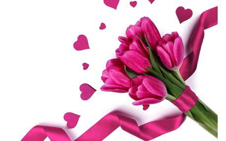 Kytice až 25 tulipánů nebo poukaz na nákup květin dle vlastního výběru