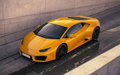 Jízda nejnovějším Lamborghini Huracán Praha