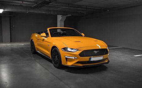 Jízda ve Ford Mustang 2019 Cabrio Brno