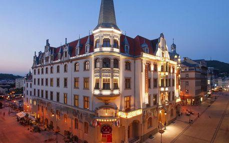 Karlovy Vary na 4 dny, snídaně v ceně