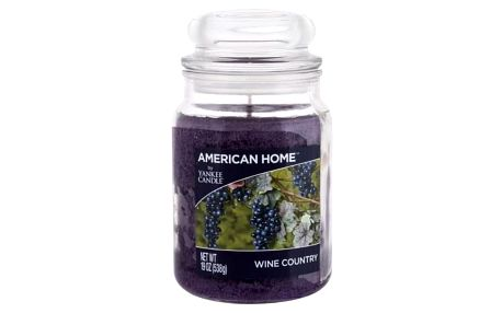 Yankee Candle American Home Wine Country 538 g vonná svíčka unisex