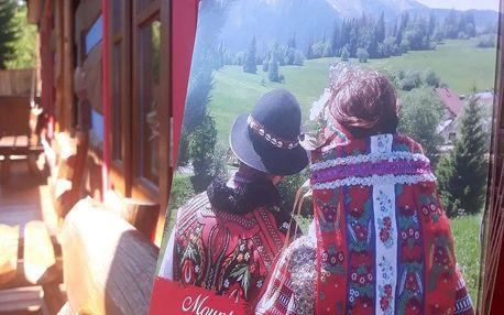 Pobyt ve stylovém penzionu rázovité goralské vesnice Ždiar