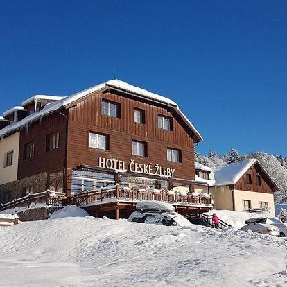 Šumava: Hotel České Žleby