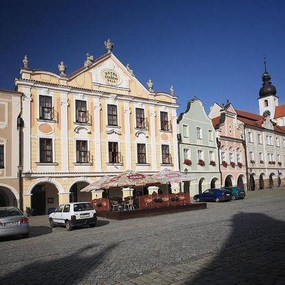 Telč, Vysočina: Hotel U Černého orla