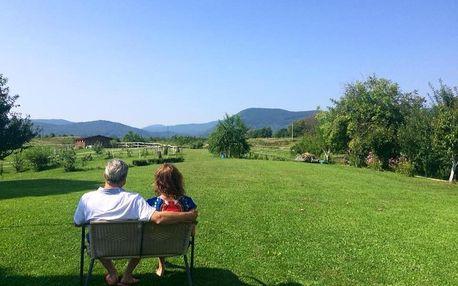 Chorvatsko - Plitvická jezera: Ranch Terra