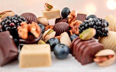 Plněné čokoládové pralinky s rozvozem až domů