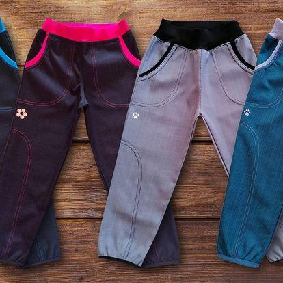 Dětské softshellové kalhoty od české značky GUDO