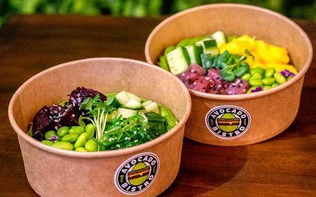 Poke bowl podle výběru i s ice tea pro 1 či 2 osoby