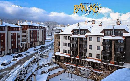 6denní zájezd se skipasem Bansko ski | Hotel Casa Karina**** | V ceně doprava, ubytování, polopenze, skipas