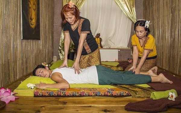 Thajská olejová masáž pro 2 osoby (90 min.)2