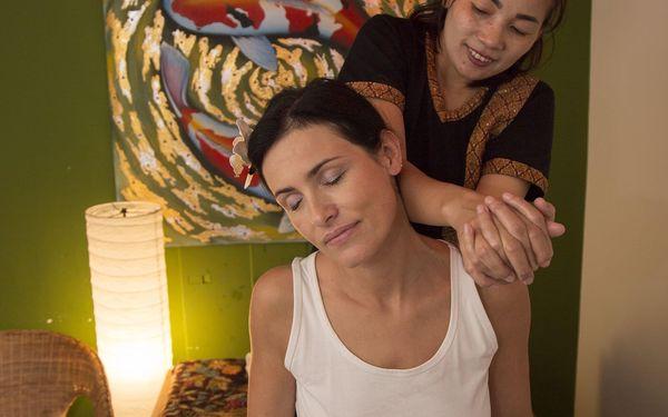 Thajská olejová masáž pro 2 osoby (90 min.)4