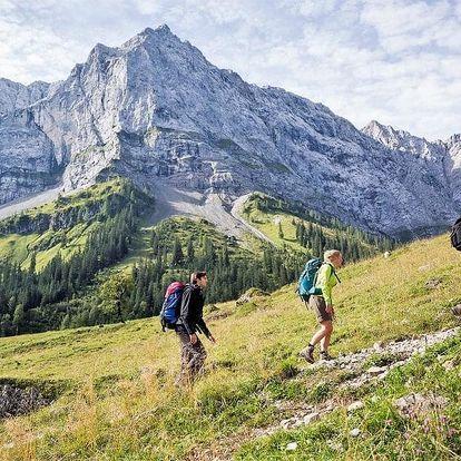 Karwendel - Horský přechod, Tyrolsko