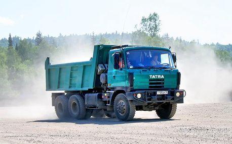 Dobrodružná jízda legendární Tatrou 815