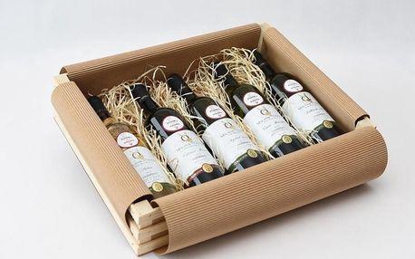 Dárkové balení vína: 5 láhví