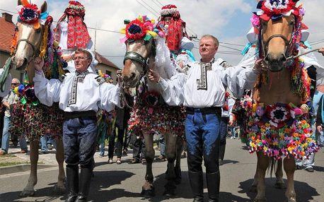 Vlčnov - Jízda králů, Střední Morava