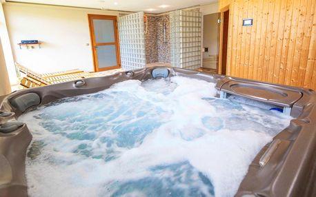 2h privátní wellness pro 2: vířivka, sauna i masáž