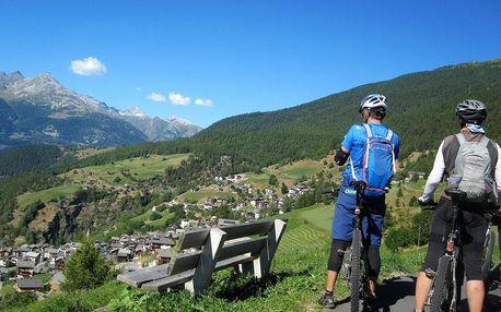 Podél řeky Rhôny, Valais (Wallis)