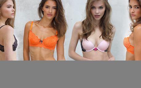 Bikini kalhotky, tanga a podprsenky: různé barvy