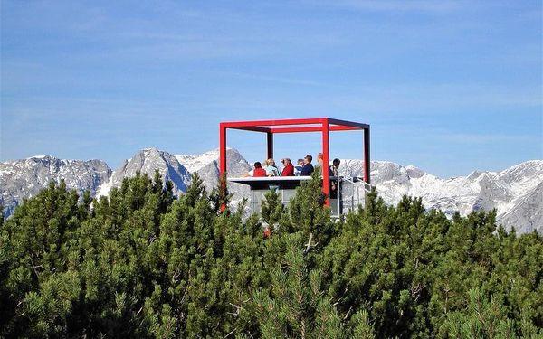 Pohoří Totes Gebirge, Štýrsko, autobusem, snídaně v ceně2