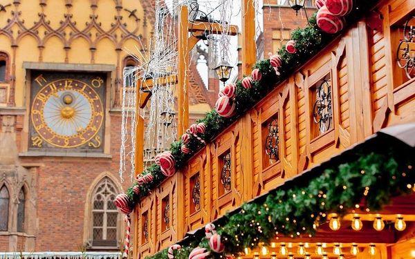 Advent ve Wroclawi, Dolní Slezsko, autobusem, bez stravy4