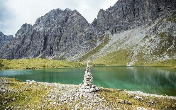 Lechtalské údolí s kartou, Tyrolsko, autobusem, snídaně v ceně3