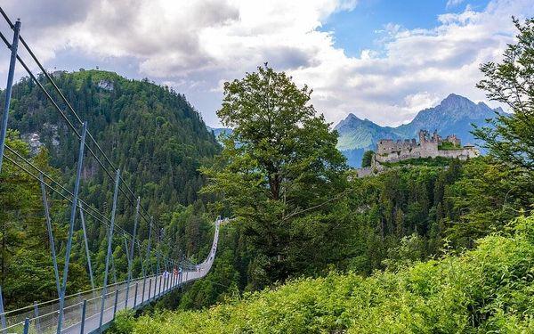 Lechtalské údolí s kartou, Tyrolsko